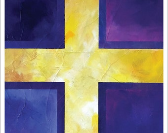 "Painting – 11""x14"" – MEDITATION 2"