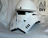 DIY Rogue One: A Star Wars Story - Tanktrooper helmet templates for EVA foam