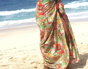 SALE!! Beach Sarong/Tassels beach sarongs/Cangas Brazilian/Beach Pareos/Swim cover up/Summer scarf/Beach towels * PAVAO  SARONG
