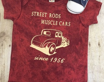 BABY BOY GEARHEAD t shirt, Baby Boy Onesie, funny baby t shirt, baby classic car shirt, street rod shirt, hot rod shirt, muscle car tshirt