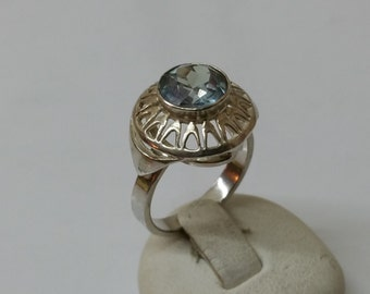 Art Nouveau ring silver 800 vintage antique old SR496