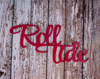 Alabama Wall Decor crimson wood sign | etsy