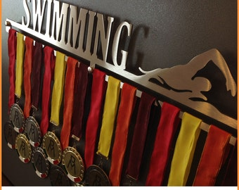 SWIMMING-Male | Medal Holder, Medal Hangers, Medals, medals, Medal Display Holder