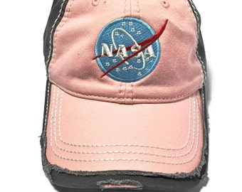 FREE Shipping - NASA Today & Tomorrow Vintage Washed Cotton Cap
