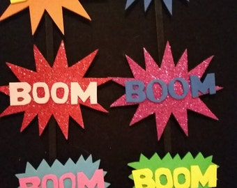 BOOM! action hair clips