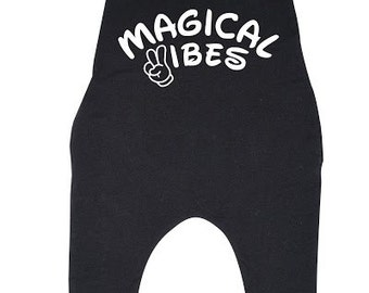 Magical Vibes Baby Toddler Racerback Romper