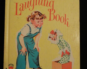 The Romper Room Laughing Book // 1963 // Hardcover