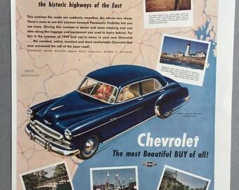 Deluxe sedan etsy for 1949 chevy 4 door sedan