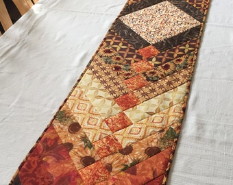 Fall French Braid Table Runner - Long