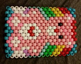 Rainbow Care Bear Kandi Bracelet