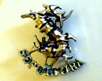 Sepultura 1991 pins original logo in arise !!!!