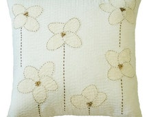 Linen Euro Sham,Linen Pillow Case,Euro Sham 26x26 Pillow Cover,Decorative Pillow For Bed White Euro Sham