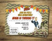 Wild Kratts Birthday Party Invitation - Kratt Brothers Birthday Invite - Digital File, Printable