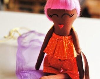 Tope- Fela and Friends Handmade doll