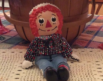 Raggedy Andy, Ceramic Raggedy Andy 1974 The Bobbs Merrill Company