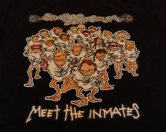 Metallica Summer Sanitarium Concert Tour T-Shirt, X-Large with AAA Label