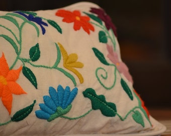 DIY embroidery flower pattern