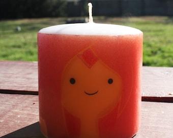 Adventure Time Flame Princess Pillar Candle Medium Unscented