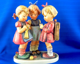 School Girls Hummel Figurine