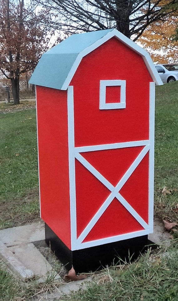 barn well head pump cover wooden outdoor decoration. Black Bedroom Furniture Sets. Home Design Ideas