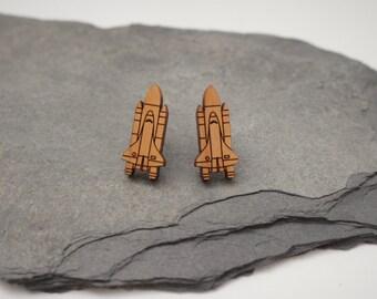 Space Shuttle Earrings