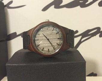 Handmade Wood Watch, Wooden Watch, Womens Wood Watch, Mens Wood Watch, Unisex Watch, Ebony Watch