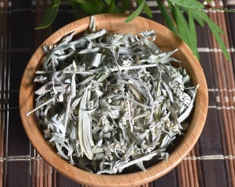 Organic Wormwood Herb Loose, Dried 1 oz