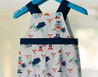 Baby Overalls PDF Pattern (size 3-6 months)