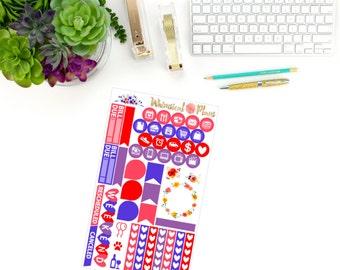 Wildflower Fields Functional - 47 Planner Stickers