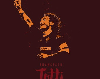 AS Roma Legend Francesco Totti