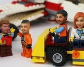 Love LEGO? Become LEGO! become your very own LEGO minifigure.