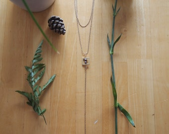 ON SALE--Y Layered Necklace made with Fresh water Hawaiian Pearls