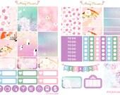 Spring in Japan Sticker Kit for Erin Condren, Happy Planner, Filofax, Kikki K, Kate Spade etc