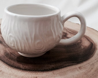 Woodgrain cup