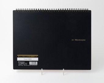 """Mnemosyne #180 spiral graph paper notebook (8.3"""" x 11.7"""")"""