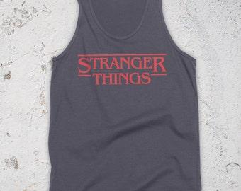 Stranger Things Tank Top