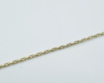 "Antique Gold Filled Chain 21.5"" Inch Gold-filled for gold filled jewelry making Item#789222022723"