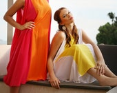 YELLOW, Plus Size, Plus Size Kaftan, Plus Size Maxi Dress, Color Block Dress, Beachwear, Beach cover up dress, Lounge wear, Holiday, Resort