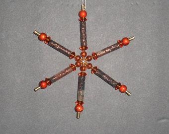 Christmas ornament, beaded