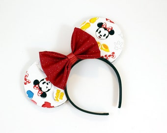 Emoji Mouse Ears - CHOOSE YOUR BOW