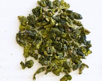 TI KUAN YIN - Organic Loose Tea, Oolong Tea, Iron Goddess of Mercy, tie guan yin, high in antioxidants & energy boost steep tea