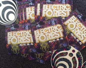 Electric Forest 2016 Sticker
