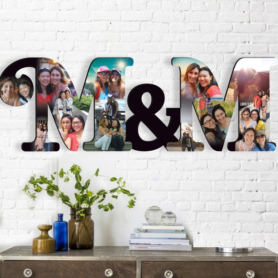 Personalised Wedding Gifts Express Delivery : Express Shipping, Custom Photo Collage 28 x10