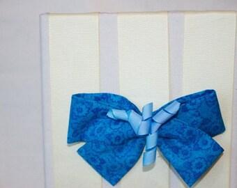 Sassy Azul Hair Bow
