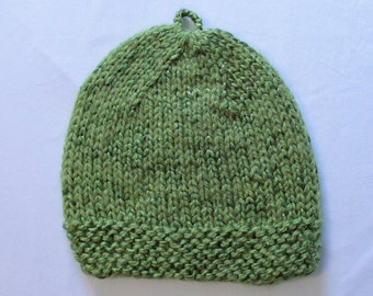 Light Green Knitted Hat