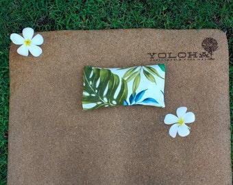 T R O P I C  B R E E Z E  (white) Organic Lavender/Flaxseed Eye Pillow