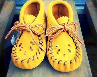 Handmade, Baby, Authentic Moccasins