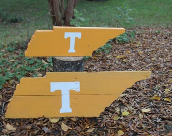 Handcrafted Tennessee State Cut-Out