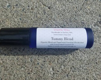 Tummy Soothing Roller Blend Essential Oils Aromatherapy