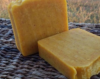 Ginger, Carrot, and Brown Sugar soap